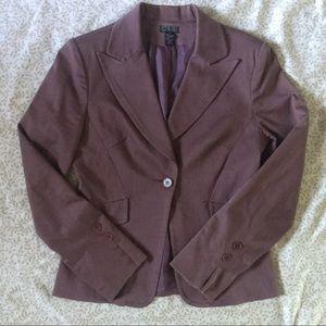 Vintage Mauve Pink Blazer Jacket